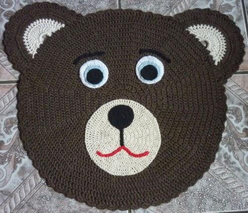 rhesurartes ~ Tapete Infantil Para Quarto Urso