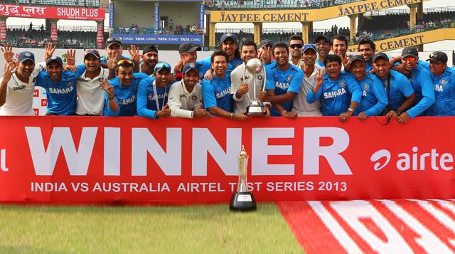 India-Won-Border-Gavaskar-Trophy-2013