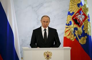 Πούτιν προς Τουρκία: Θα μετανιώσετε! Αιχμές και κατά της Δύσης: Μη χρησιμοποιείτε τους τρομοκράτες όπως και όταν σας βολεύει