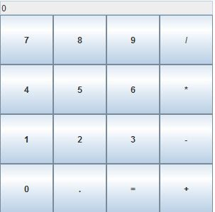 how to make a calculator with java program