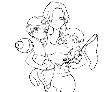 #16 Wii Fit Trainer Coloring Page