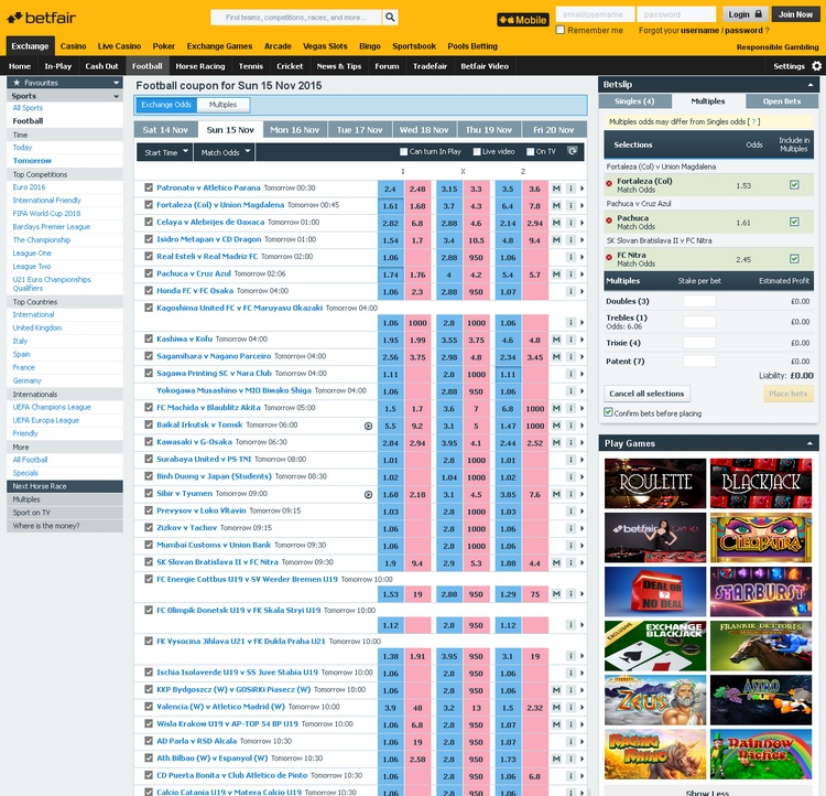 Betfair Offers