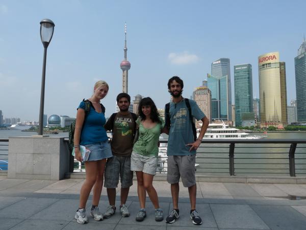 Shanghai skyline, rascacielos  shangai