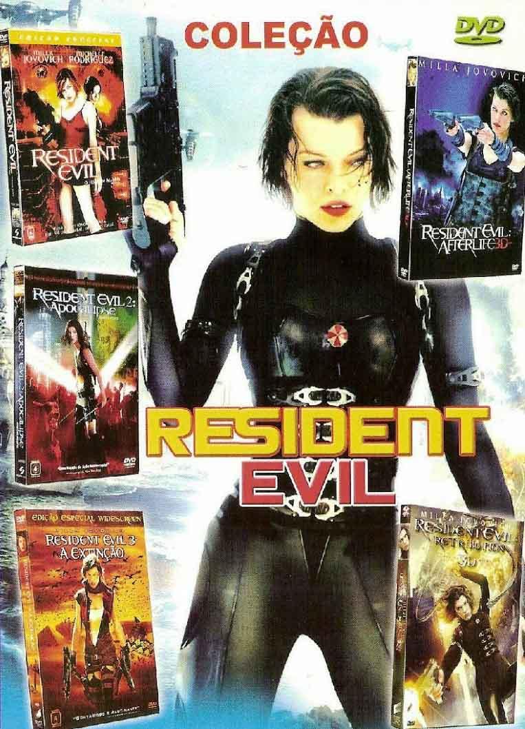 Pentalogia Resident Evil Torrent – BluRay 1080p Dual Áudio (2002-2012)