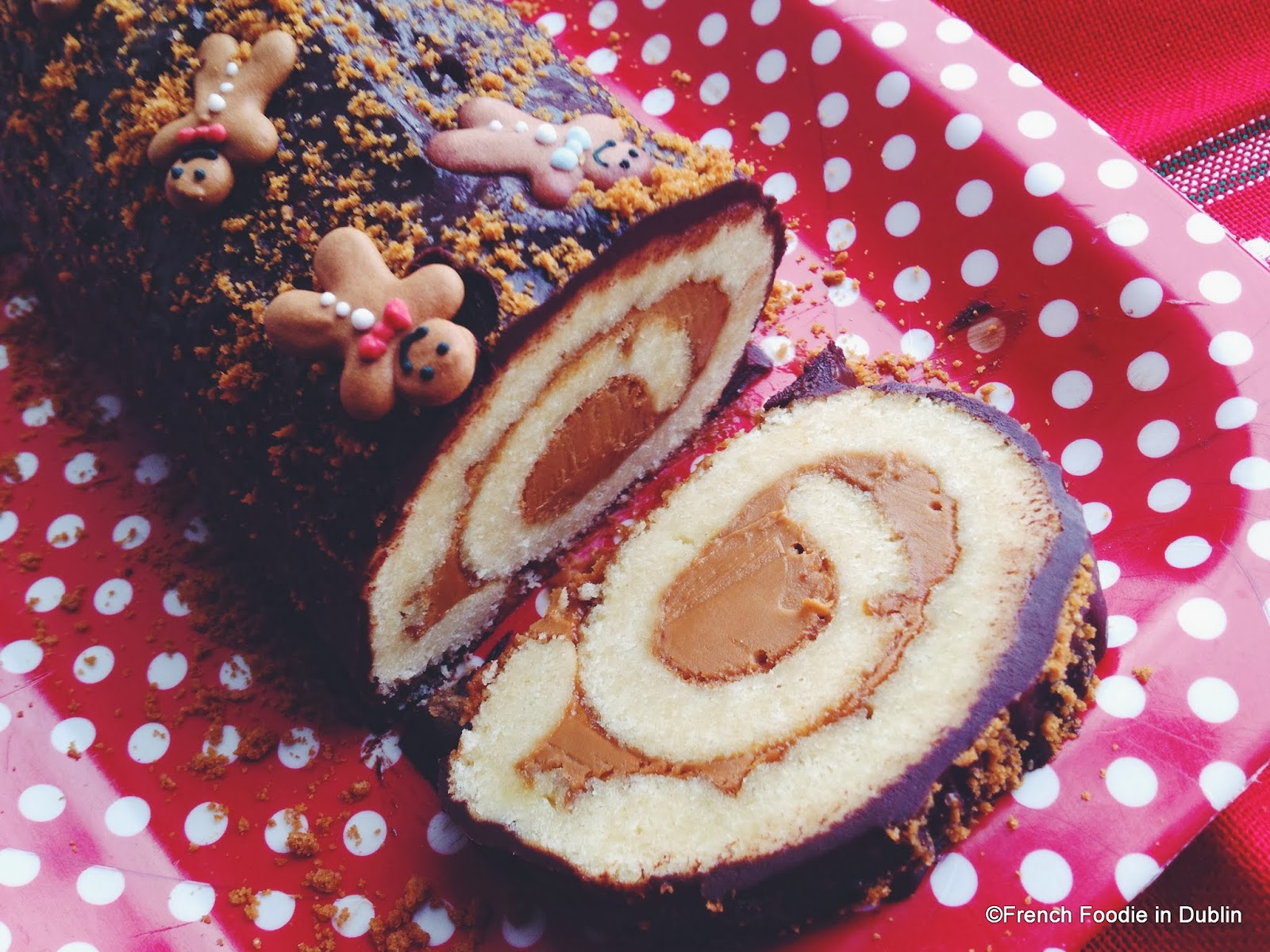 Christmas recipe speculoos and chocolate christmas log french christmas recipe speculoos and chocolate christmas log forumfinder Gallery