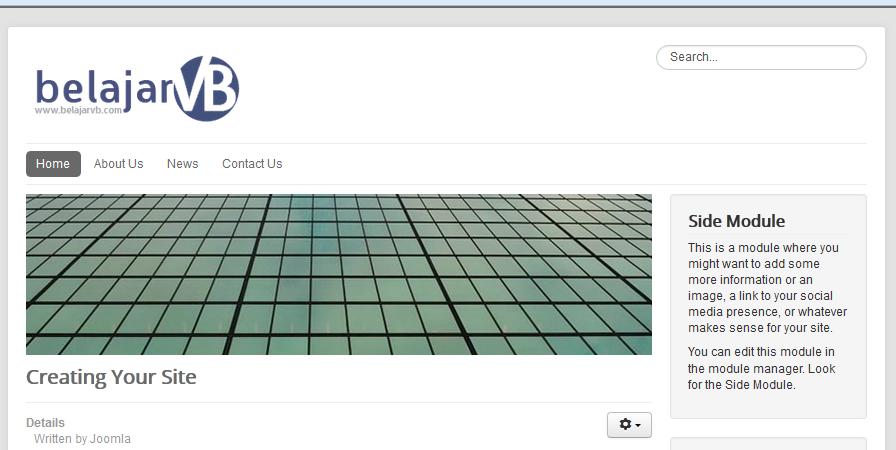 Cara Mengganti Logo Joomla 3.X