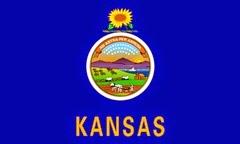 Kansas Eyaleti Bayrağı