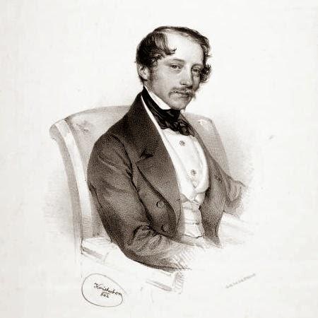 Otto Nicolai by Josef Kriehuber