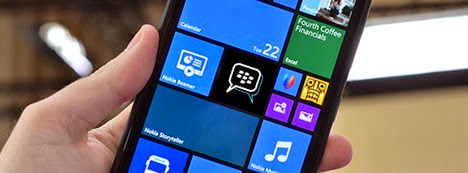 Update Download BBM Beta untuk Windows Phone