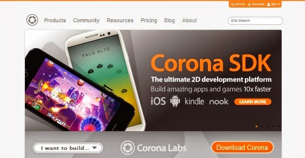 Mobile App Development Tools - Corona SDK