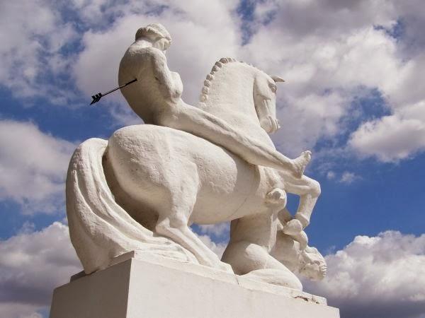 Pomnik Leszka Białego w Marcinkowie Górnym