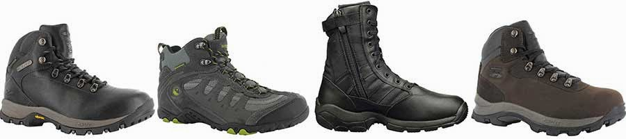 Hi-Tec walking hiking footwear