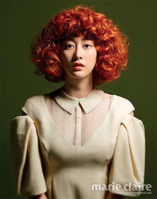 Jeon Hye Bin - Marie Claire Magazine July Issue '13