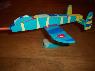 Fighter Jet kit from Consumer Crafts
