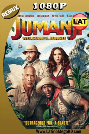 Jumanji: En la Selva (2017) Latino HD BDREMUX 1080P ()