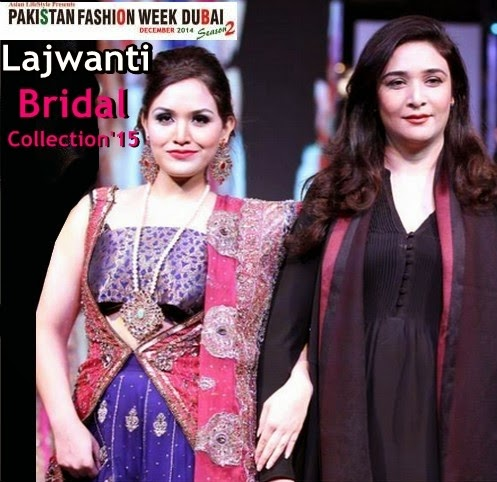 Lajwanti Bridal Collection 2015 at PFWD 2014