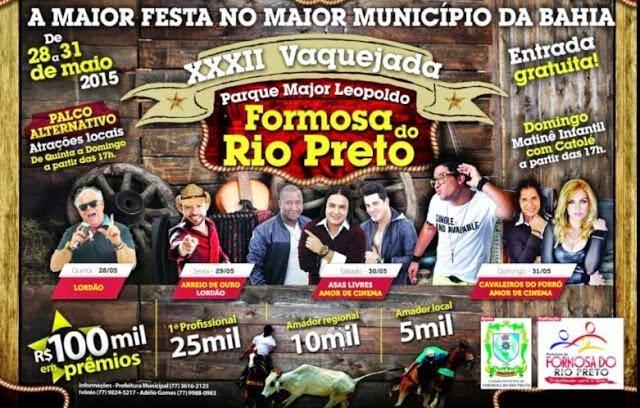 23º VAQUEIJADA DE FORMOSA DO RIO PRETO
