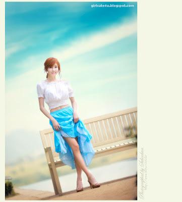 3 Choi Byeol Yee-Legs Show Off-very cute asian girl-girlcute4u.blogspot.com