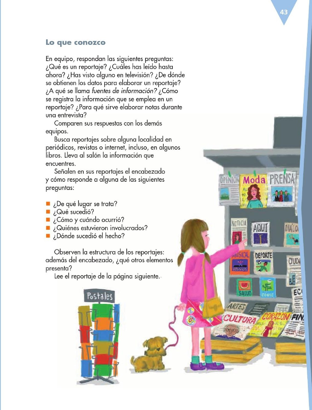 Apoyo Primaria Español 6to Grado Bloque II Lección 1 Escribir un