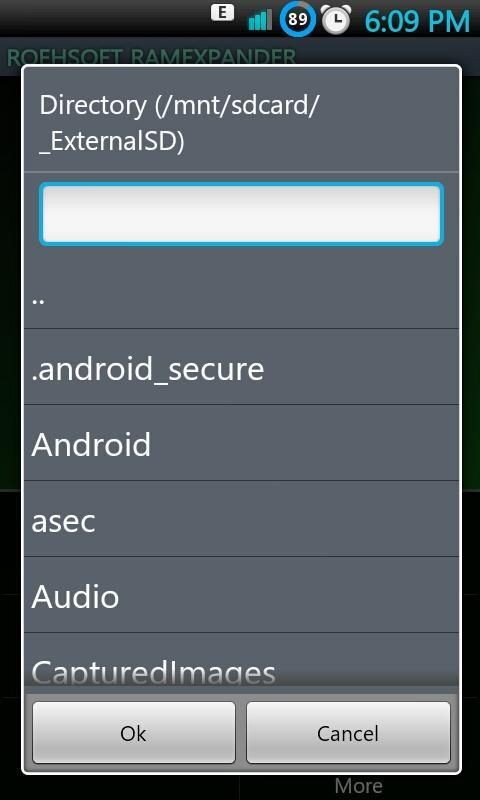 Pada menu awal, klik tombol Setting (capacitive button), pilih SDCARD ...
