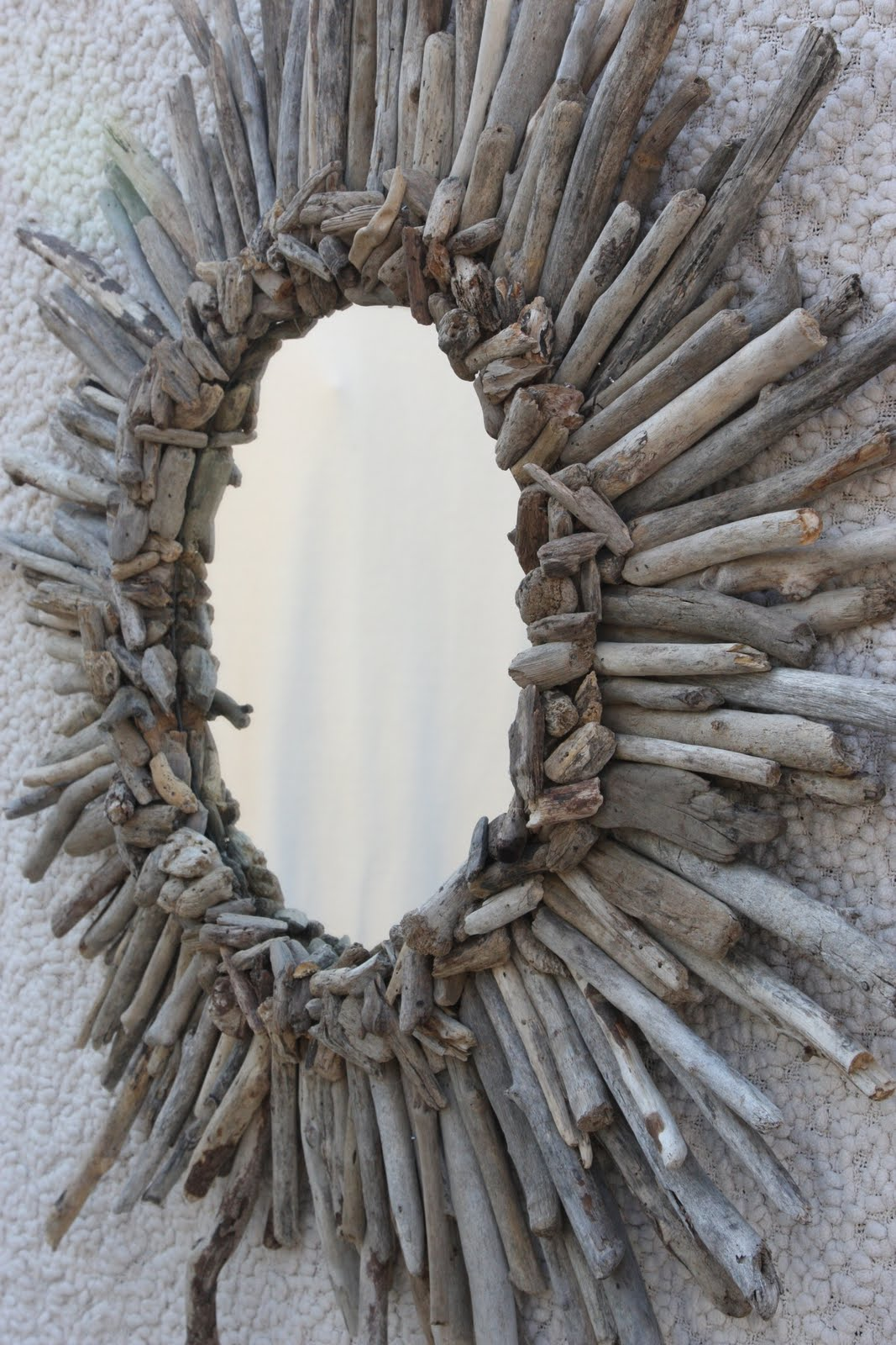 alamode diy driftwood sunburst mirror from blessed awesome