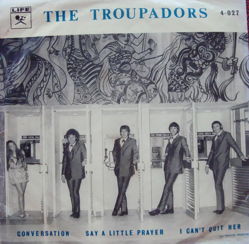 FROM PERTH, WESTERN AUSTRALIA, THE TROUPADORS. WRITTEN BY DR. STEVEN FARRAM.