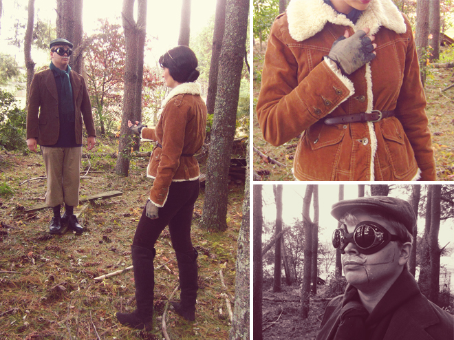 Homemade Halloween costumes - Syberia