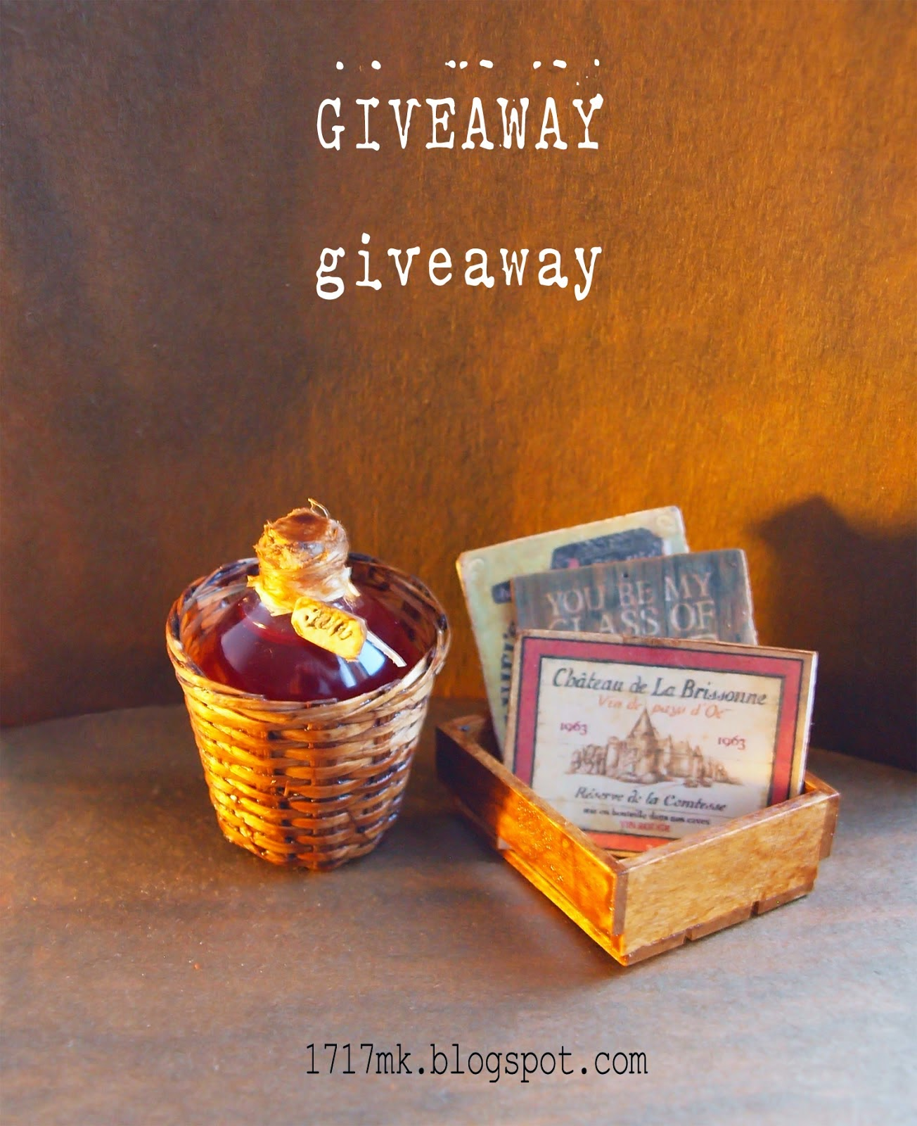 give away ends  Jan 2 2015
