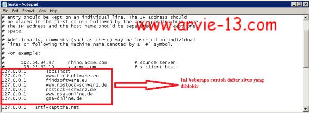 cara buka blokir pada sebuah website