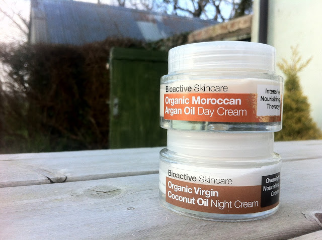 Dr Organic day and night cream