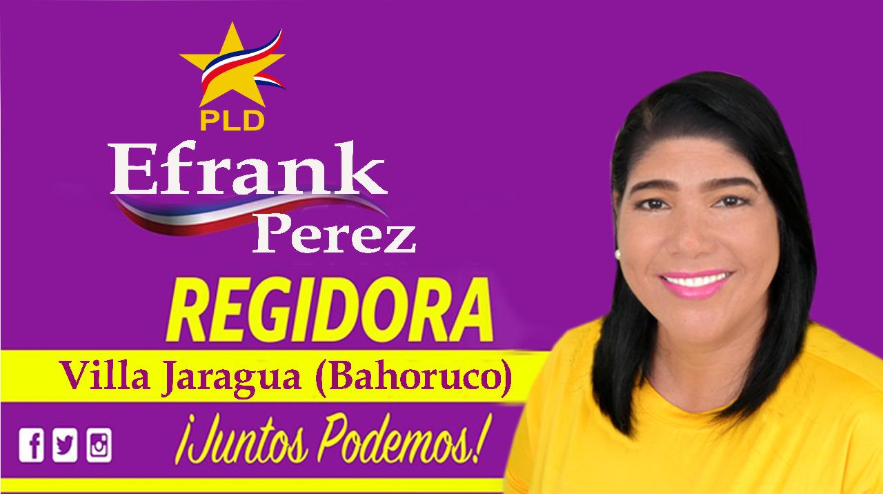 Efrank Perez, tu Regidora Jaragua 2020