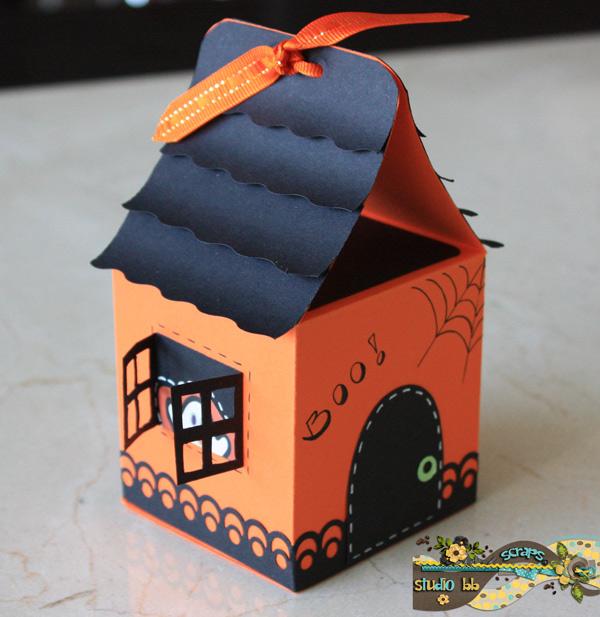More Halloween Treat Boxes Studio Bb Scraps