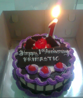 Happy 1st Anniversary Primastic