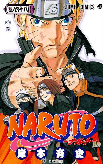 Okładka mangi Naruto