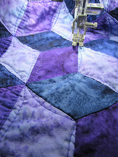fixing a stained quilt