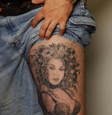 fineartonline thigt tattoo ideas 2011