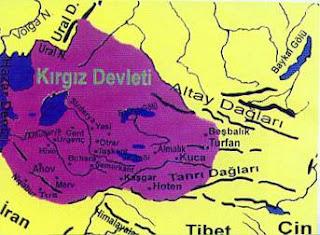 kirgizlar haritasi