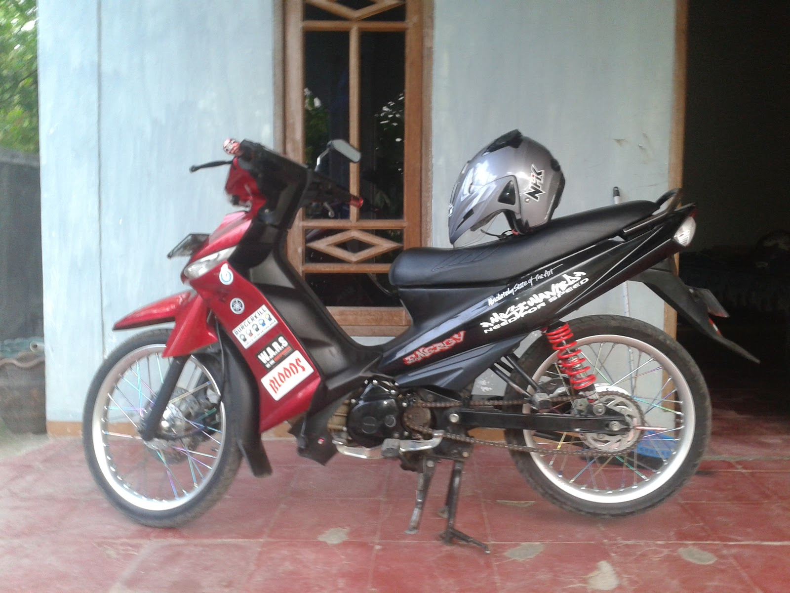 Motor Modifikasi Vega