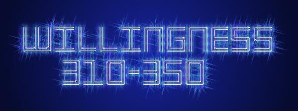 energy levels - willingness