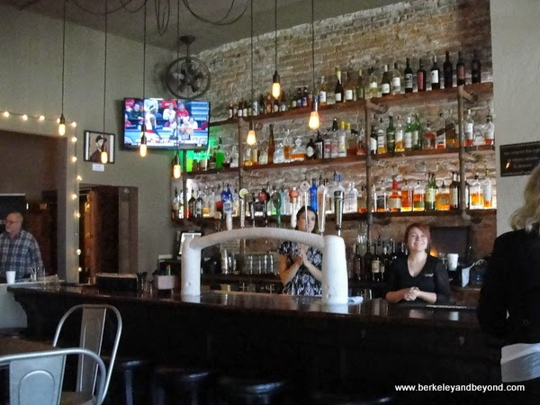 The Lobby Bar at Hotel Sutter in Sutter Creek, California
