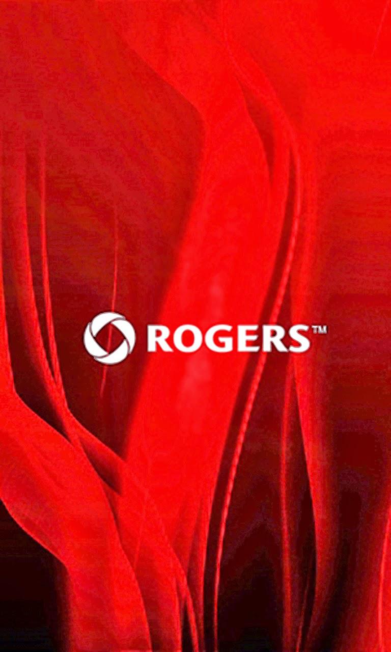 Roger Logo BlackBerry Z10 Wallpaper