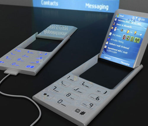 concept phone projector