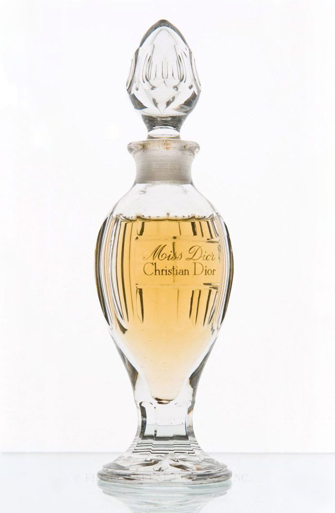 Miss Dior by Christian Dior vintage Baccarat crystal perfume bottle c. 1947-1950s