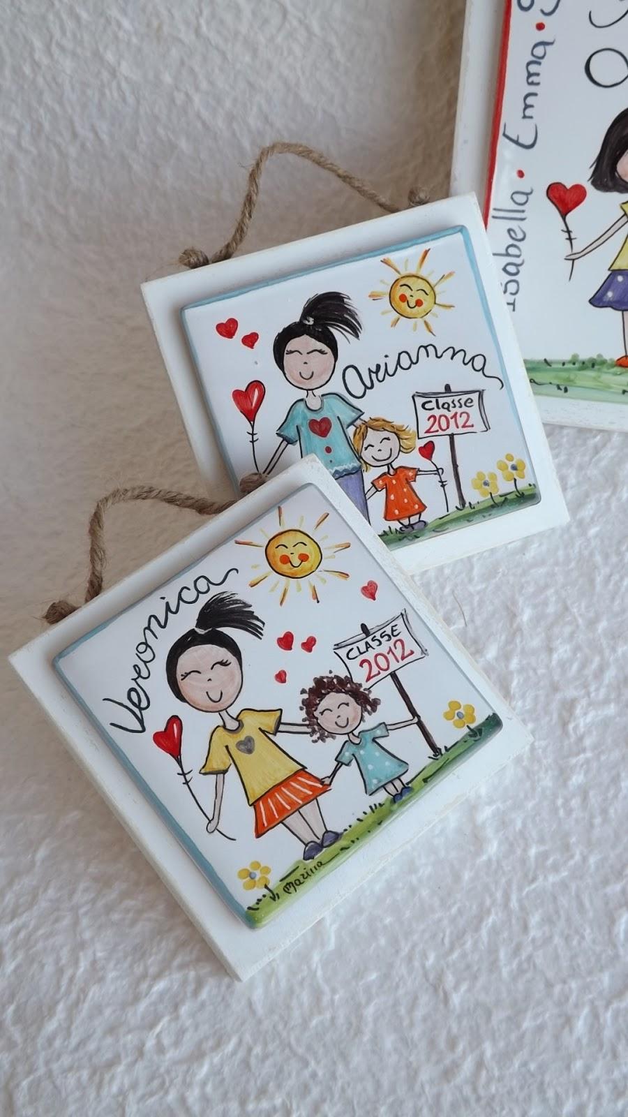 Ceramica come mestiere mattonella in ceramica con maestra for Cerco in regalo tutto per bambini