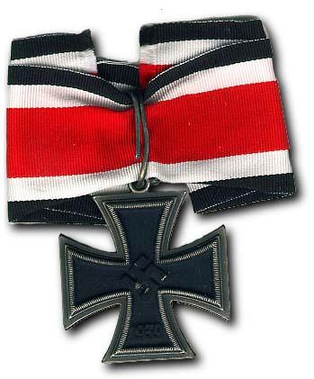 la cruz de hierro de Caballero