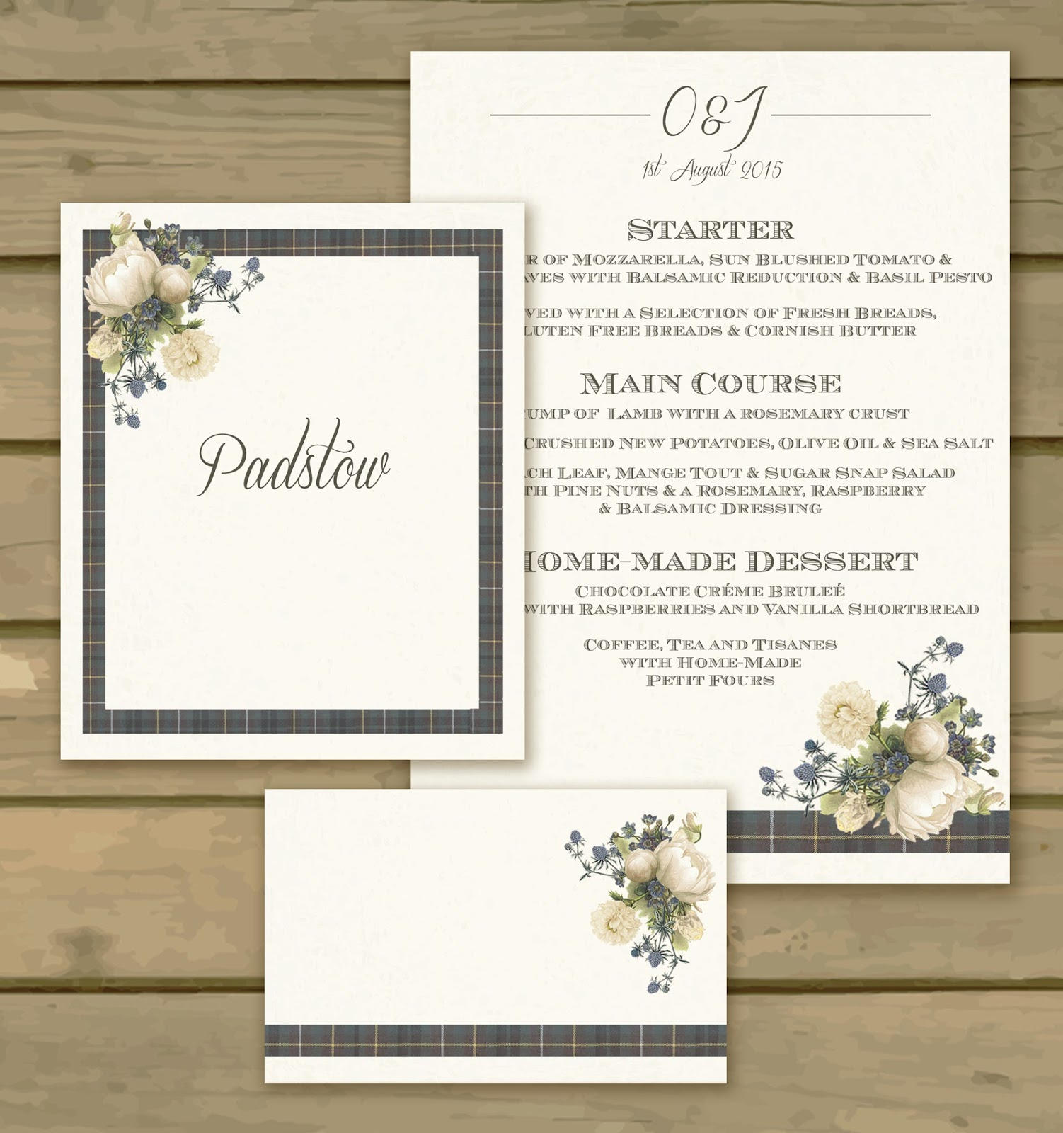 Knots and Kisses Wedding Stationery