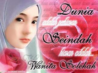 Peran Wanita Solehah Dalam Islam