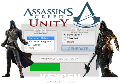 Assassin's Creed Unity Cd Key Generator