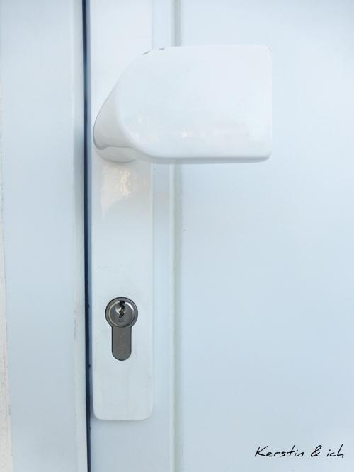 Wohnung Haustür Schlüsselloch