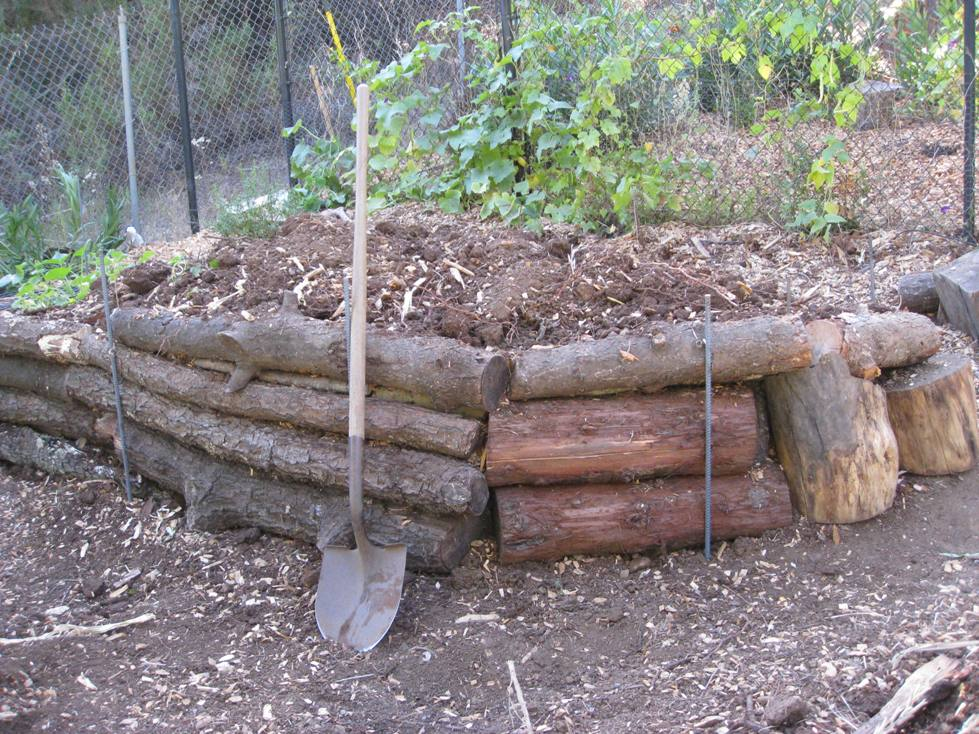 Low cost vegetable garden pictures - How to build a garden retaining wall ...